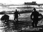 Sea Mine found near Pier 1961 mark