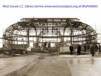 1925 Construction of the Pier Pavilion