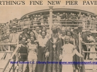 1935 Worthing Pier reopens