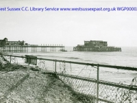 1942 Partially dismantled Pier