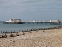 Pier viewed from Worthing Beach
