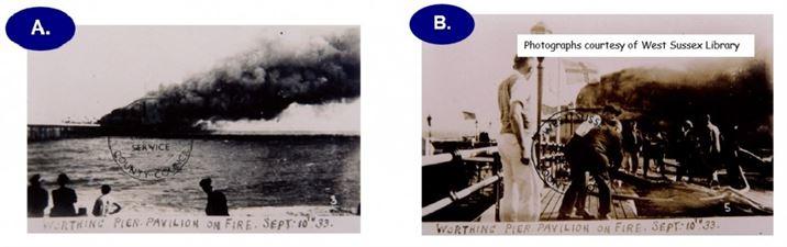 Fire Photos a and B 1933