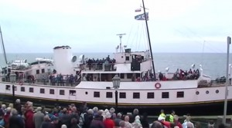 SS Balmoral docking 2011